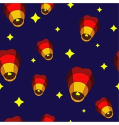 Lanterns Pattern vector image