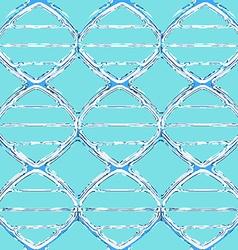 liquid dna seamless pattern vector image