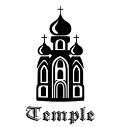 Temple icon vector image