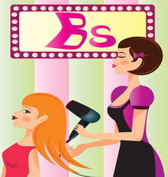 Beauty-parlor vector