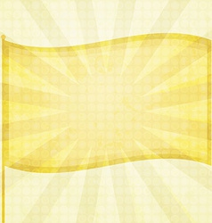 Sunny flag background vector
