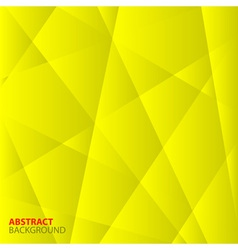 Abstract yellow geometric background vector
