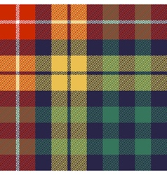 Colored check seamless fabric texture vector