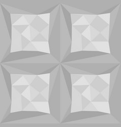 gray polygonal triangle pattern seamless vector image