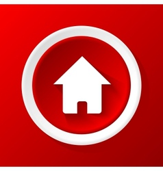 Home 3D Paper Icon vector image