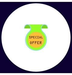 Special offer computer symbol vector