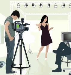 studio vector image