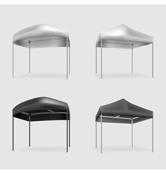tents vector image