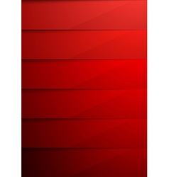 Red shadow layer modern folder background vector