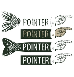 Pointer vector