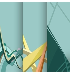 Business design templates vector image