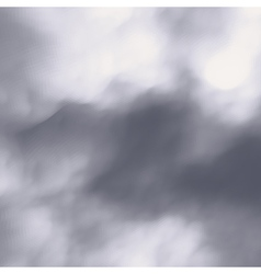 Grey sky with clouds nature background vector