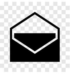 envelope icon - iconic design vector image