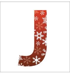 J Letter vector image