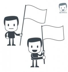 victory icon man set013 vector image