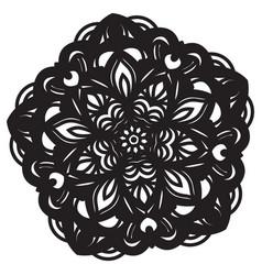 abstract mandala design vector image vector image