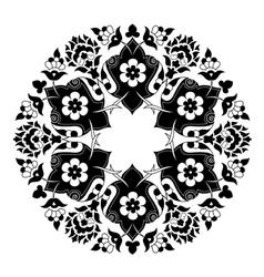 Artistic ottoman pattern series seven vector