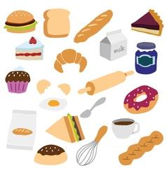 Bakery object vector