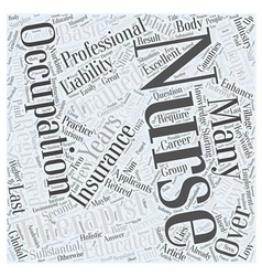 Nurses enhance therapists occupations word cloud vector