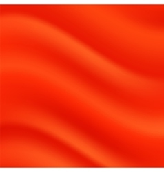 Red wave background vector