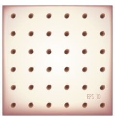Tiles with holes in rows vector