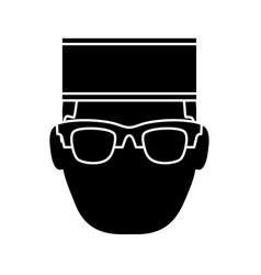 Bellboy man icon vector