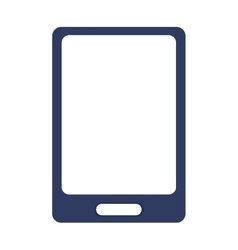 Modern cellphone icon vector