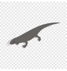 Lizard isometric icon vector