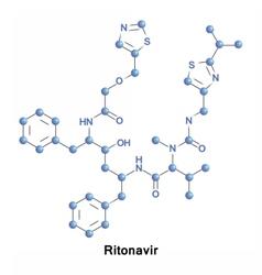 Ritonavir is an antiretroviral medication vector