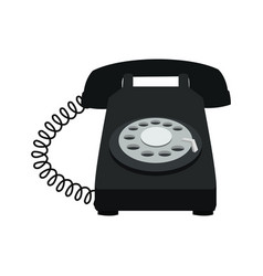 telephone talk communication element image vector image
