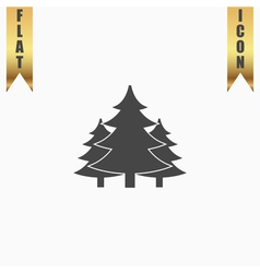 Tree christmas fir tree vector