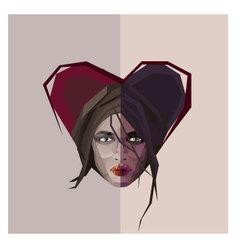 Femme fatale vector image