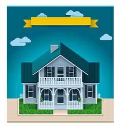 Cottage xxl icon vector