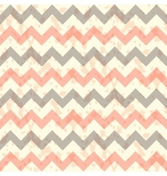 Seamless chevron pattern on linen turquoise vector image