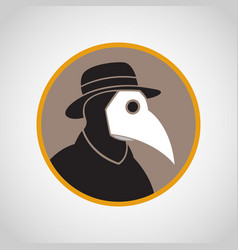 Plague logo icon vector