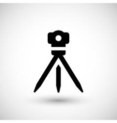 Geodetic level icon vector image