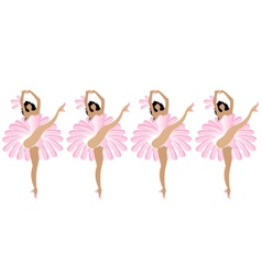 Cancan dance vector