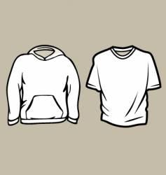 apparel sketch template vector image