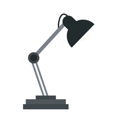 desk lamp light accessorie image vector image