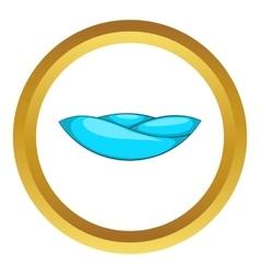 Ocean wave icon vector