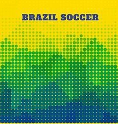 Brazil soccer design vector