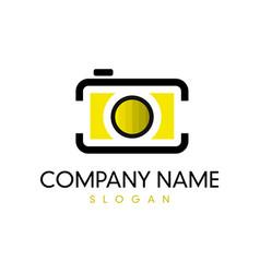 Camera logotype vector