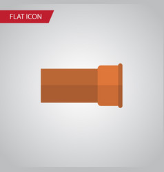 Isolated iron flat icon cast element can vector