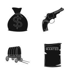 Bag with money colt van is being searched for vector