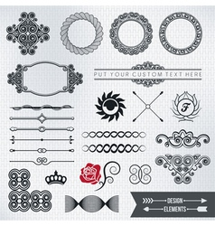 design elements part 5 vector image