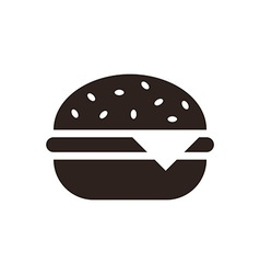 Hamburger icon vector