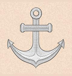 anchor vector image vector image