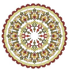 Antique ottoman turkish pattern design twenty four vector