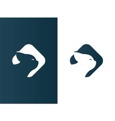 Cat logotype elegant business modern - isolated vector