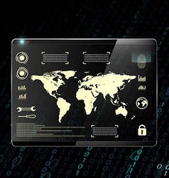 digital background Stock vector image vector image